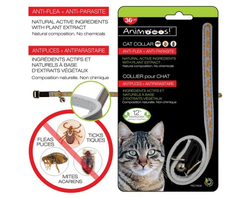 Collier pour chat antiparasitaire