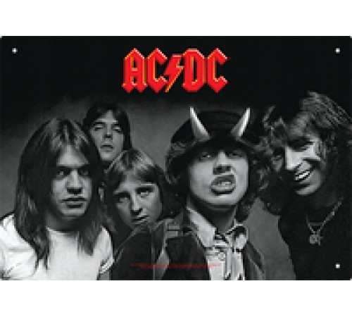 Enseigne AC/DC en métal / Highway To Hell