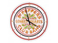 "Horloge murale 13.5 ""des Beatles / Sgt Pepper's"