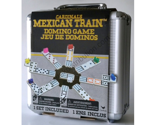 Jeu de dominos Train Mexicain