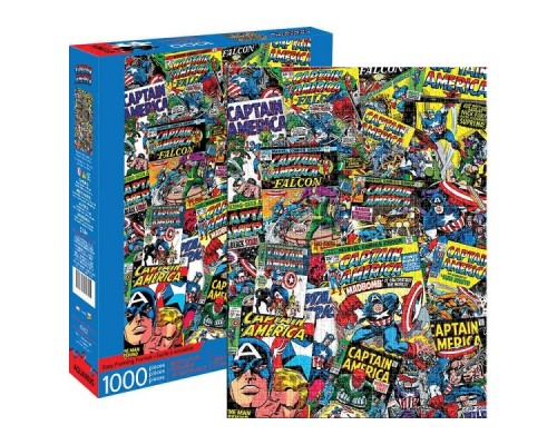 Casse-tête Captain America Collage 1000mcx