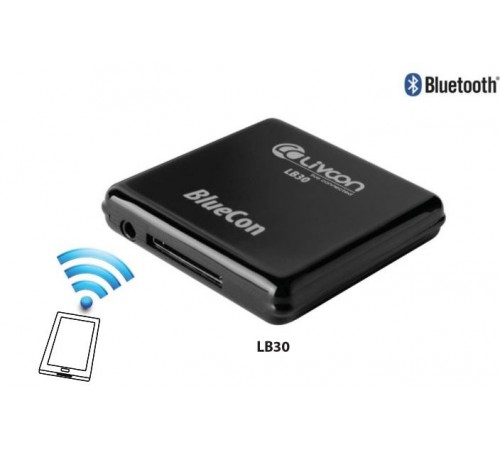 Convertisseur Bluetooth 30 Broches (ipad/iPhone/iPod) en récepteur