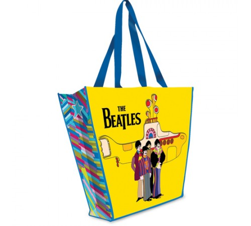 Beatles Grand sac réutilisable / Yellow submarine