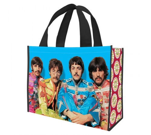 Beatles Grand sac réutilisable / Sgt Pepper's