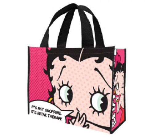 Betty Boop Grand sac réutilisable / Visage
