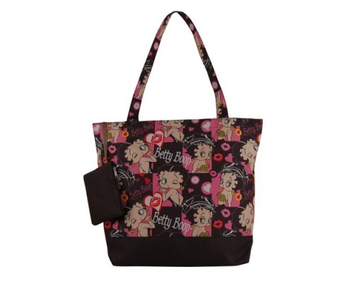 Betty Boop Sac à main Grand avec porte monnaie / Motar