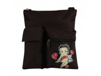 Betty Boop Sac à bandoulière Moyen / Cœur Simple