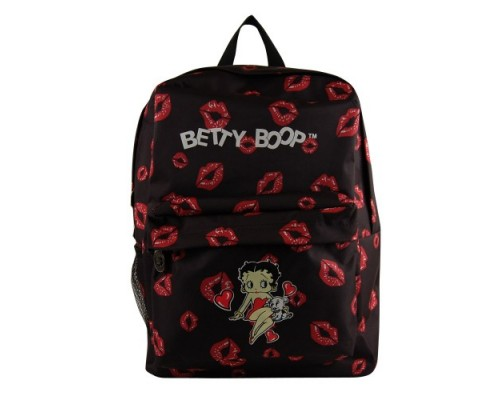 Betty Boop Sac à dos / Baiser et cœur simple