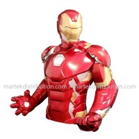 Iron Man Banque Buste (tirelire)