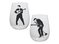 Ensemble Elvis Presley de 2 verres 18oz
