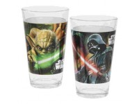Ensemble Star Wars de 2 verres 16oz / Darth Vador et Yoda