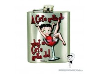 Flacon d'alcool Betty Boop / Une fille doit faire....