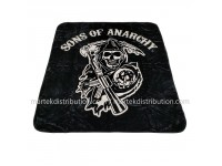 Couverture Sons of Anarchy en peluche